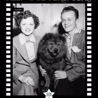 1936 Dance Team Billy & Beverly Bemis with their chow  Ching Chong Yang at dog show