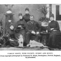 1896  Book- An American Dog Abroad and the Foreign Dogs he Met – by Frank Pope Humphrey