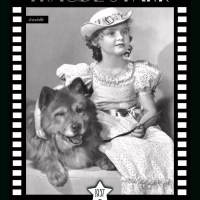 1937 TRAUDL STARK – Austrian born child actress with a chow