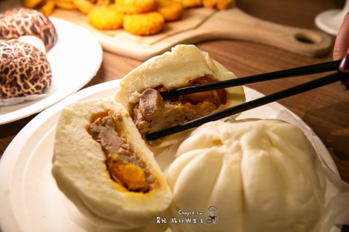 台南美食好去處 台南機場正對面 奇美食品風味館 包子裡有鮑魚是真的!