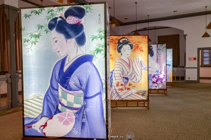 秋田夏之風物詩 日本文化遺產 秋田湯澤 繪燈籠祭 每年夏天僅一周公開亮相