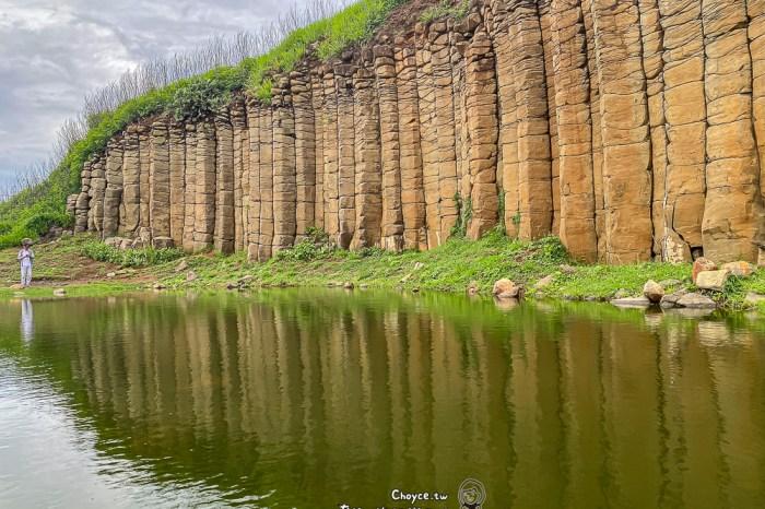 澎湖旅行錯過不行 大菓葉柱狀玄武岩 Basalt 世界最美海灣in 澎湖