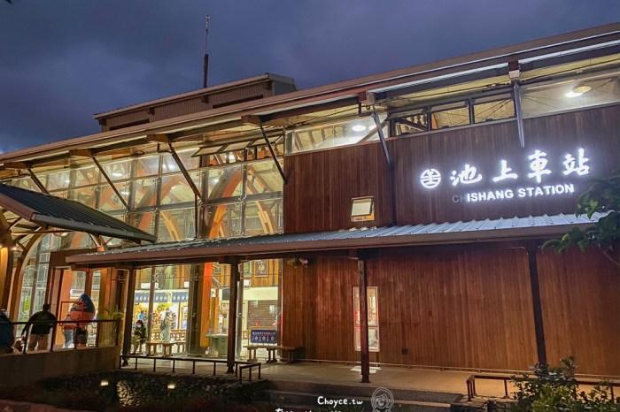 台東必訪 超美池上藝術裝置 最有氣質車站 池上飯包 勝大王