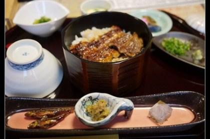 (日本) 長野縣 諏訪湖 御うな 小松屋 日本產現烤鰻魚飯三吃