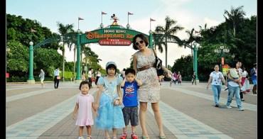 (親子遊香港) 香港迪士尼樂園 煙火秀超正點!(華航兩天一夜香港迪士尼不到萬元!)