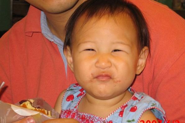 小喬滿一歲四個月囉!