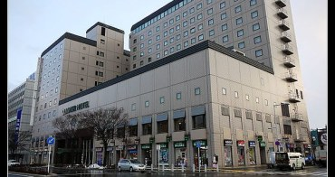 函館車站正對面,便利交通住宿推薦 ロワジールホテル函館 resol hakodate.