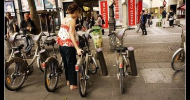 (歐洲) 法國巴黎 velib 騎單車玩巴黎!!