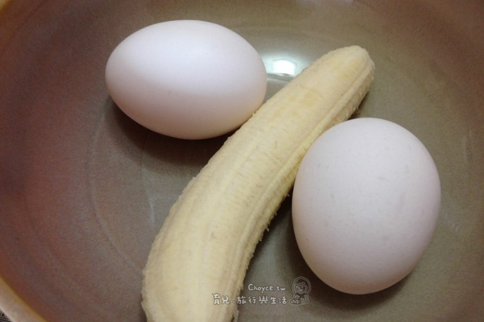 (Choyce廚房) 親子料理超開心 一根香蕉兩個蛋,香蕉鬆餅真簡單