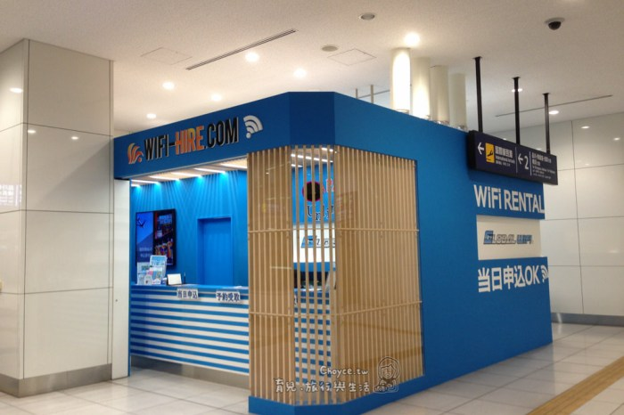 (日本旅遊) JCB日本WiFi租借操作實錄 日本取機還機(意外多請注意)