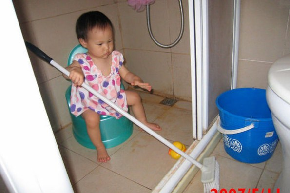 有小孩的都很髒?