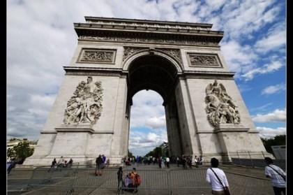 (歐洲) 法國巴黎 香榭麗舍上的凱旋門Arc de triomphe de l'Étoile