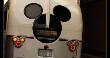 (日本東京) 東京迪士尼度假區 郵輪式米奇巴士連接各個主要飯店,無料搭乘喔!