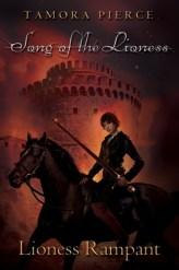 Lioness Rampant by Tamora Pierce cover redesign