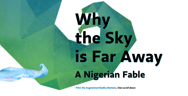 Why the Sky is Far Away
