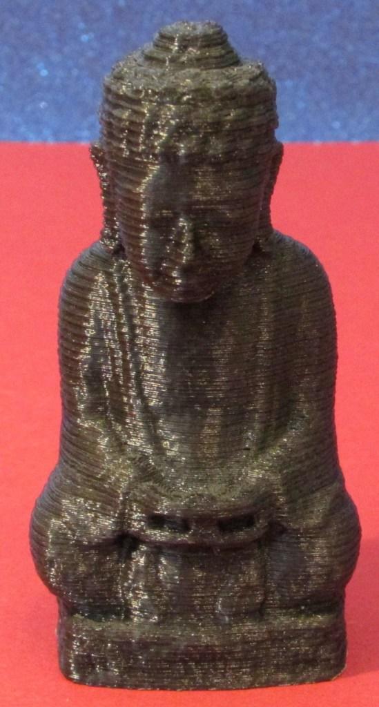3D-gedruckte Replikation einer Buddastatue