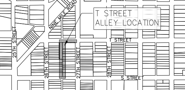 Urban Design Committee to consider green alley for T