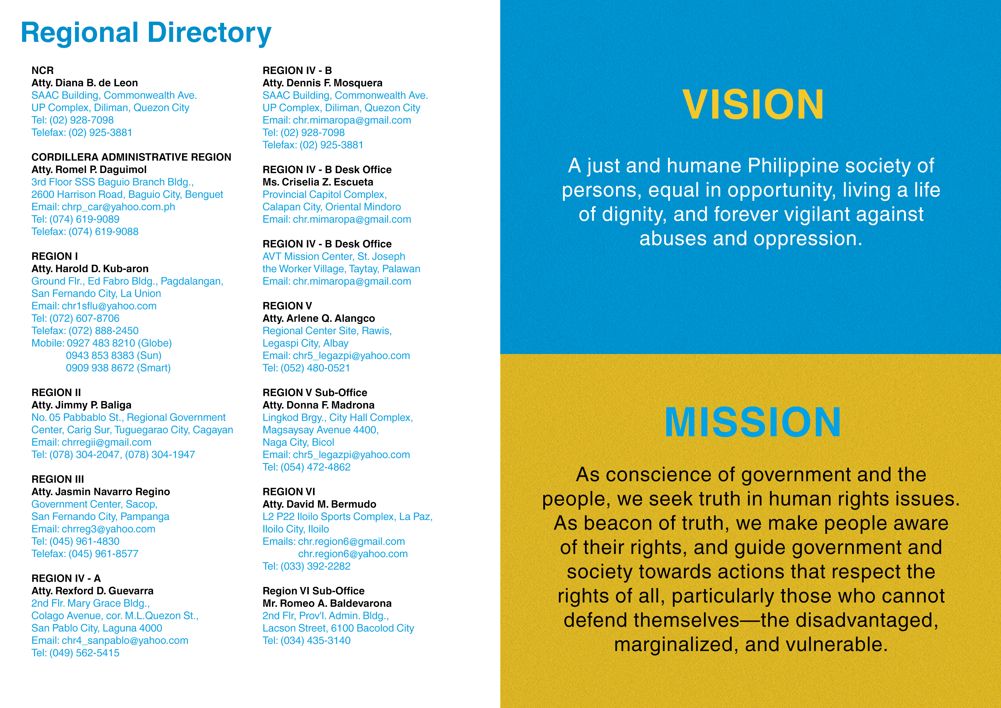directory+VisionMission2 – Commission on Human Rights