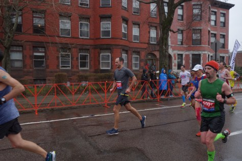 Casey running Boston 2015