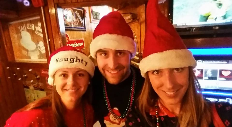 christmas bar crawl