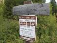 Storm Castle Trailhead Sign