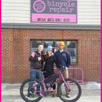 Rachel gets a New Bike for the GDMBR