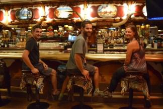 Saddled up at the Million Dollar Cowboy Bar