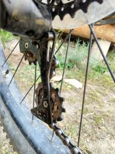 Incorrect chain routing