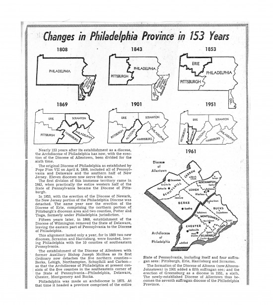Archdiocese of Philadelphia-Boundaries