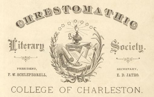 Debate poster, 1879