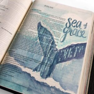 Bible Journaling - Jonas