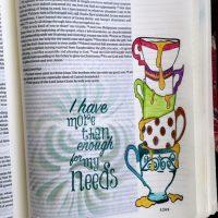 Bible Journaling - Provision