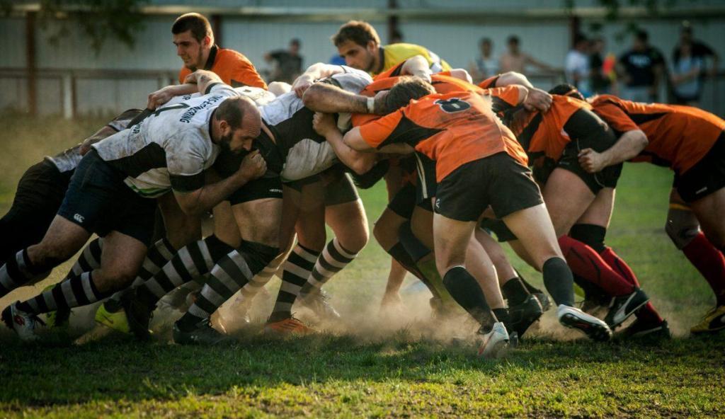 mêlée de rugby - échec rend créatif