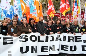 """Le front syndical contre la réforme des retraites s'est étoffé jeudi avec la décision de la CFDT-Cheminots et de plusieurs syndicats d'EDF d'appeler à la grève le 5 décembre, un écueil de plus pour l'exécutif qui veut parer à tous les scénarios face à cette nouvelle inconnue sociale après les """"Gilets jaunes"""". Crédit photo: Olga Besnard/ 123Rf"""
