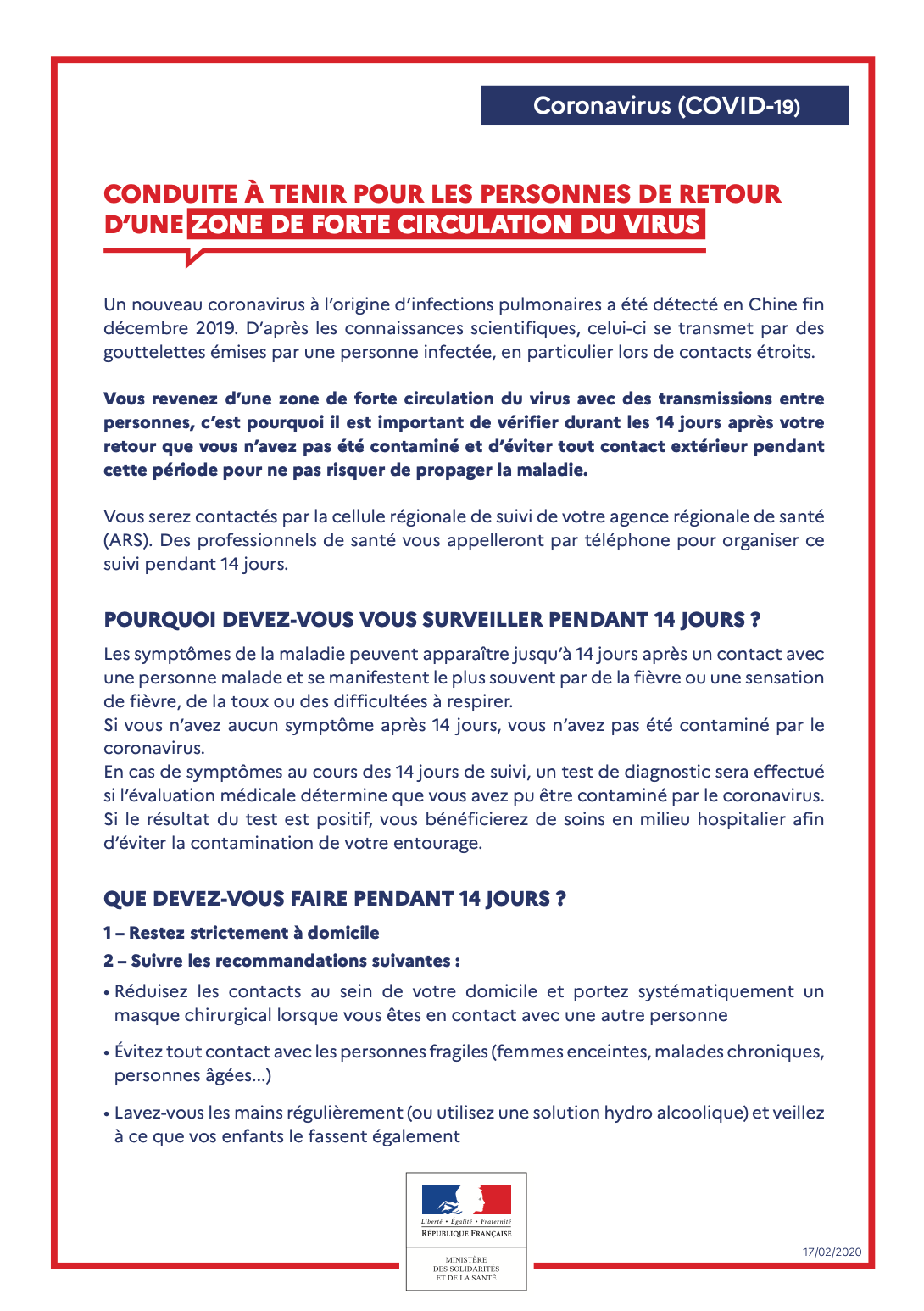 Pneumonie à coronavirus nouveau (2019-nCoV)