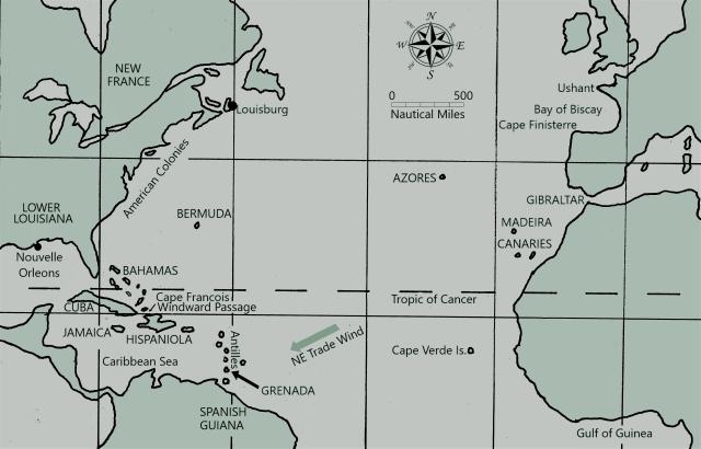 North Atlantic 1756 -1757 Neo