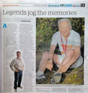 legends jog memories