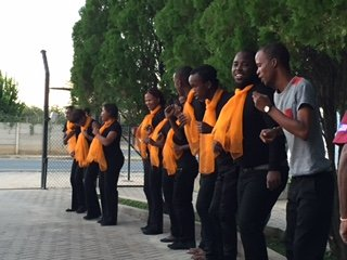 The Okahandja Youth Choir.