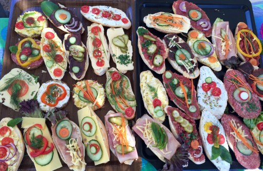 Snacks or works of art? At the Saturday morning Green Market in Windhoek.