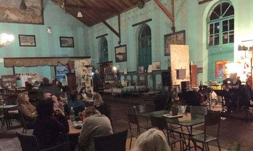 La Brocante, in Windhoek, is an old German-era theater converted to an antique store during the day and a restaurant in the evenings with live music. A touch of Europe in Africa!