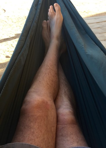 As fun as the wedding (and the neighbors) were, I was pleased to get my quiet hammock back on the Sunday afternoon!