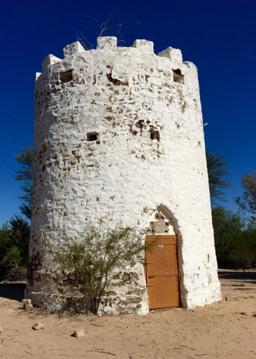 This historic town's main historic artifact is the Powder Tower. In truth, Namibia's history is a collection of the histories of various tribal and ethnic groups, most of whom immigrated from elsewhere on the continent over many centuries. In the mid-19th Century, the Hereros had their administration base here in Otjimbingwe. There's not much to show for it now, but the people retain a collective memory of its significance.