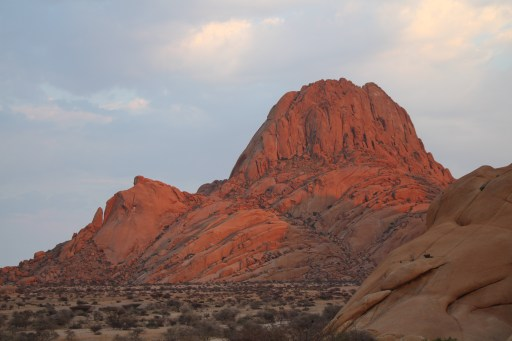 Gross Spitzkoppe at Sunrise.