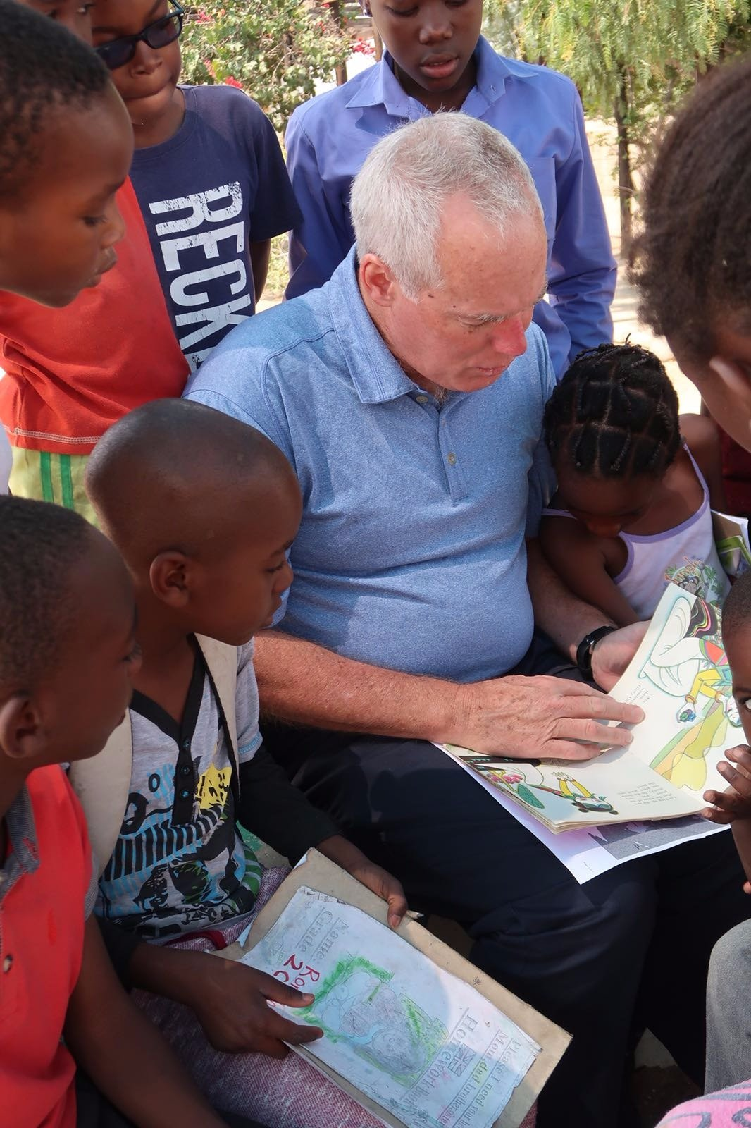 Day of the Namibian Child and Reading Club