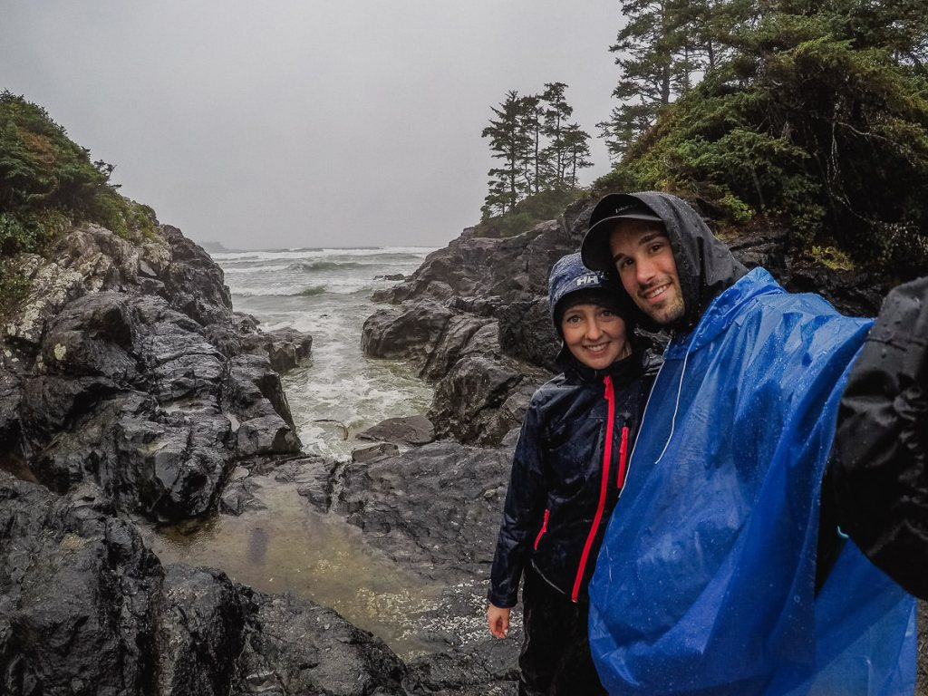 Visit Tofino Beaches even when its raining