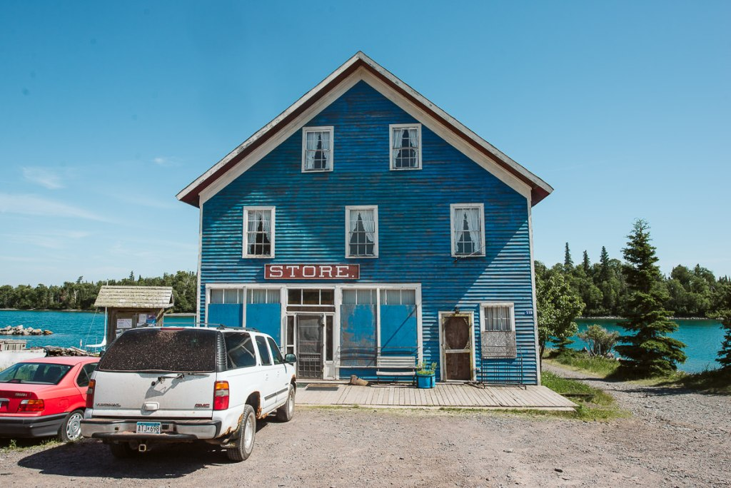 The general store in Silver Islet.