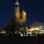 Marienkirche und Wasserspiele