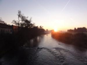 Sonnenaufgang an der Ruhr