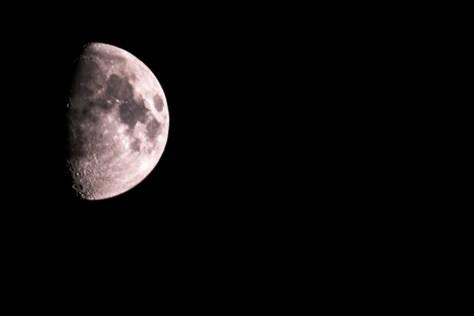 Der Mond (800mm, f8)