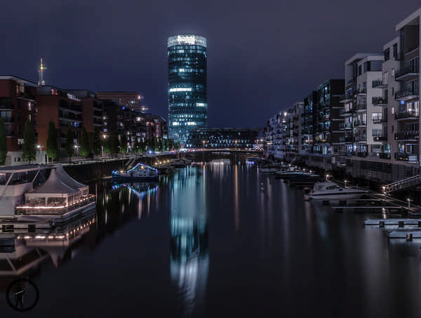 Westhafen Tower in Frankfurt am Main